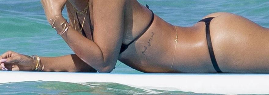 Rihanna thong