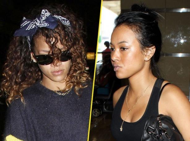 Karrueche Tran And Rihanna Physical Fight RIHANNA VS KARR...